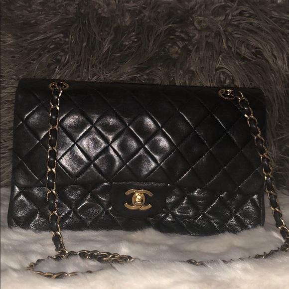 1a1e9aec2eea CHANEL Handbags - Chanel classic small double flap bag